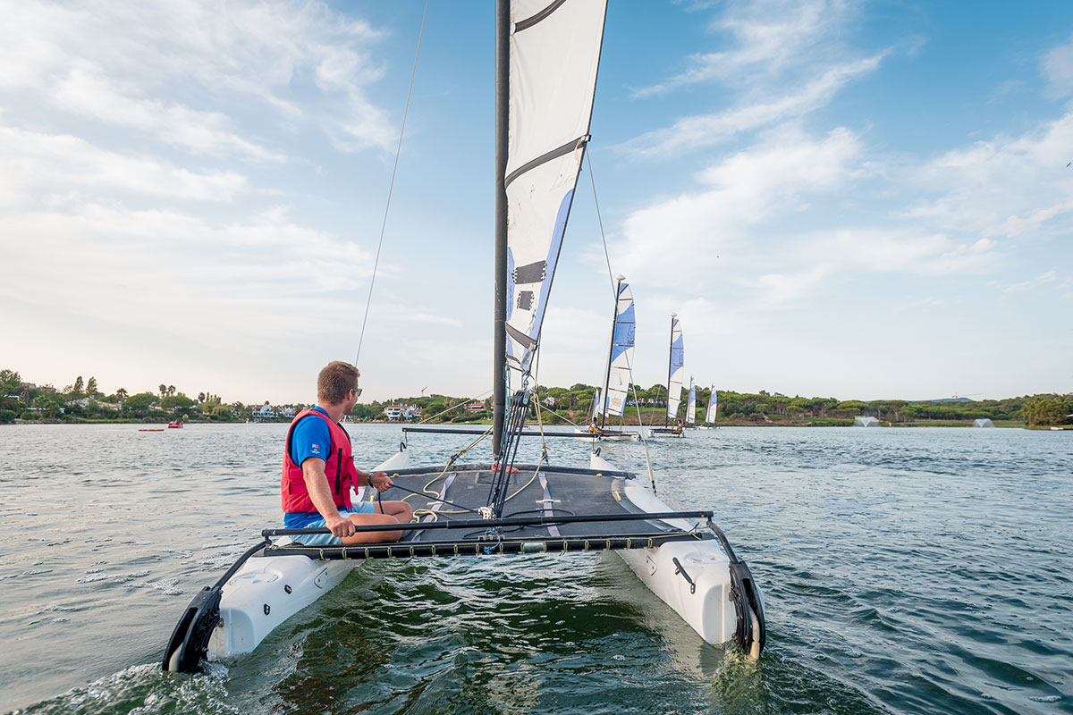 sailing windsurf lago watersports courses and lessons