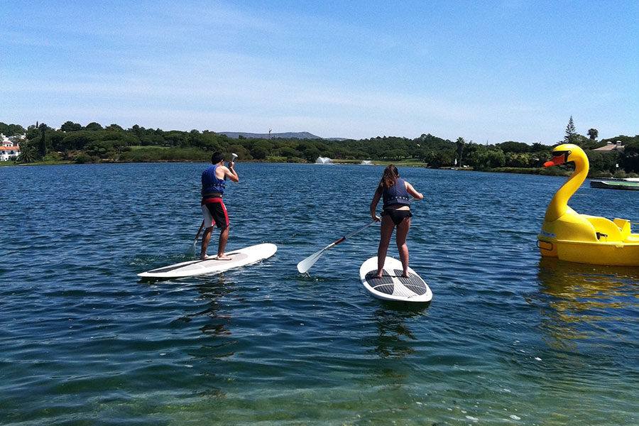 SUP lake artur watersports academy