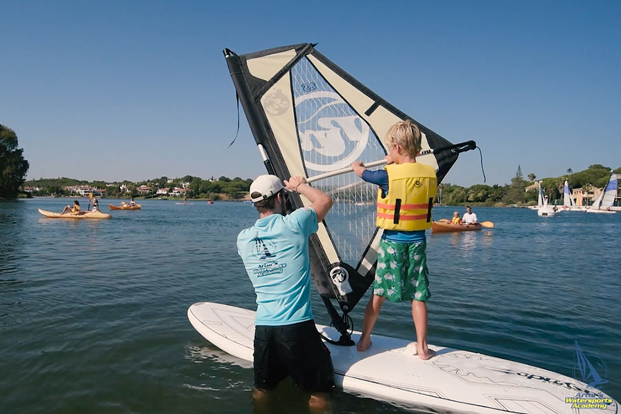 windsurf lessons artur watersports academy