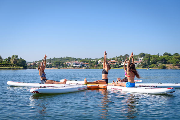 SUP Yoga Classes lake activities artur watersports academy