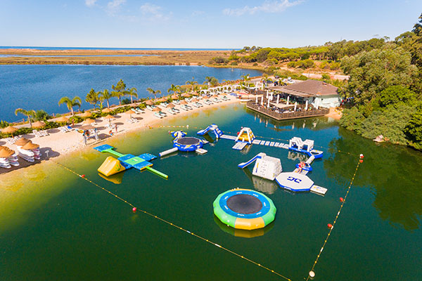 Wibit Inflatable lake activities artur watersports academy